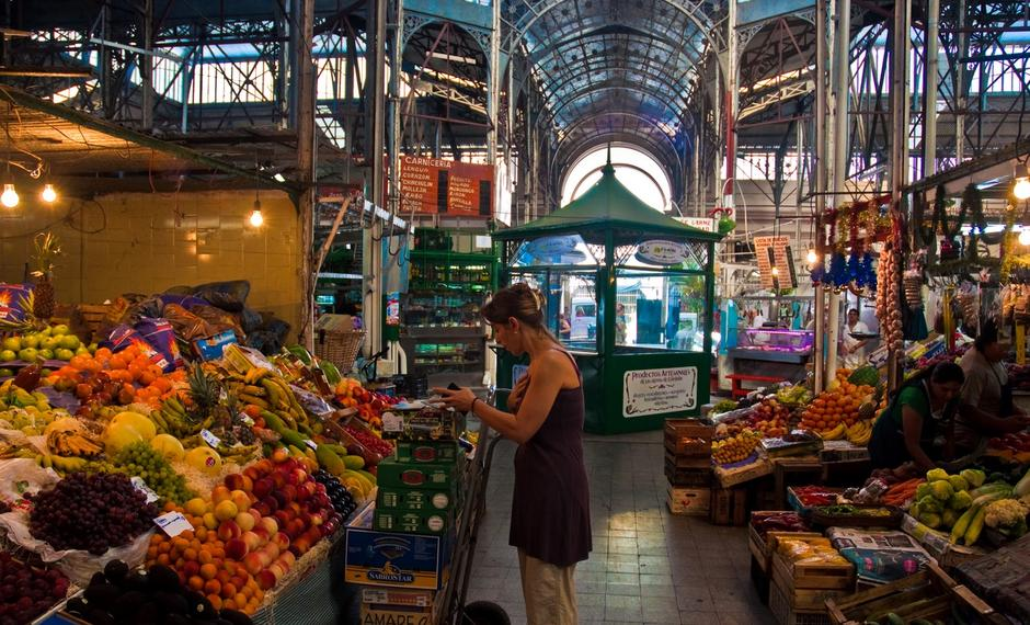 Food market u Buenos Airesu | Author: Wikipedia