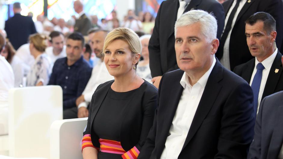 Dragan Čović i Kolinda Grabar Kitarović | Author: Dusko Jaramaz (PIXSELL)