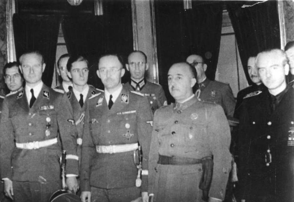 Himmler u posjeti kod Franca | Author: Bundesarchiv