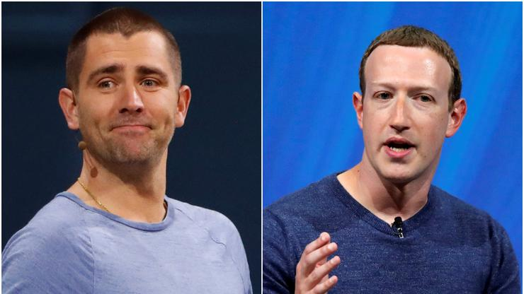 Chris Cox i Mark Zuckerberg