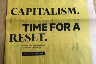 Naslovnica i stranice Financial Timesa