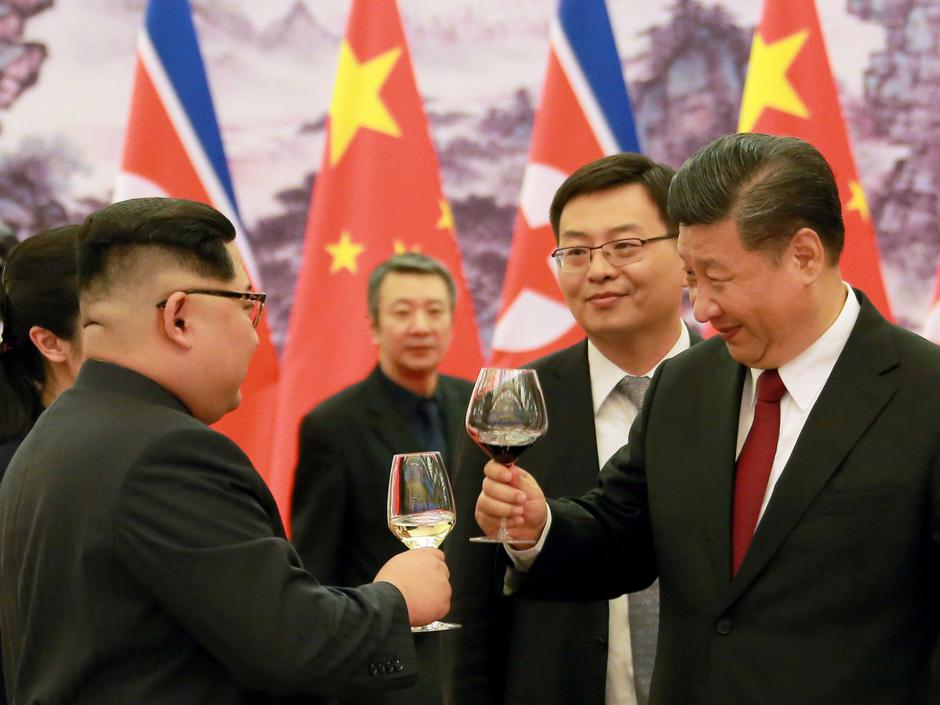 Vlak Kim Jong Una | Author: KCNA/via Reuters
