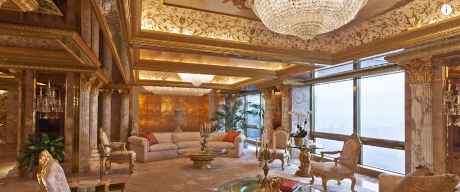 Donaldov apartman u Trump Toweru | Author: screenshot