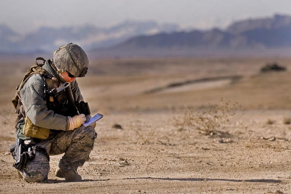 "Američki vojnici u bazi ""Lagman"" u Afganistanu | Author: Master Sgt. Adrian Cadiz/ public domain"