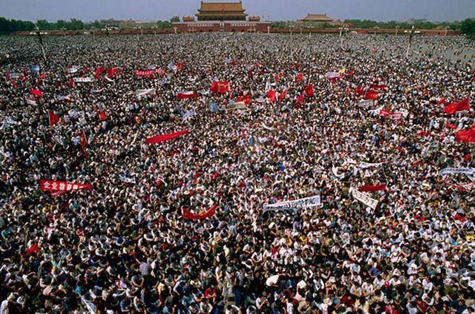 Tiananmenski prosvjedi   Author: Wikipedia
