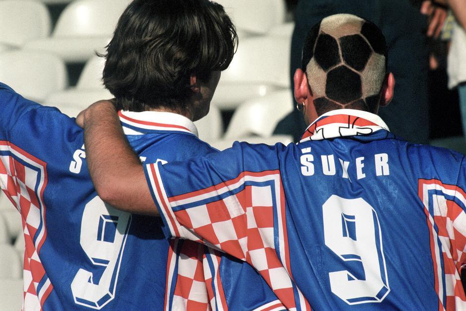 Hrvatski nogometaši 1998. | Author: Robert Belošević/PIXSELL/History