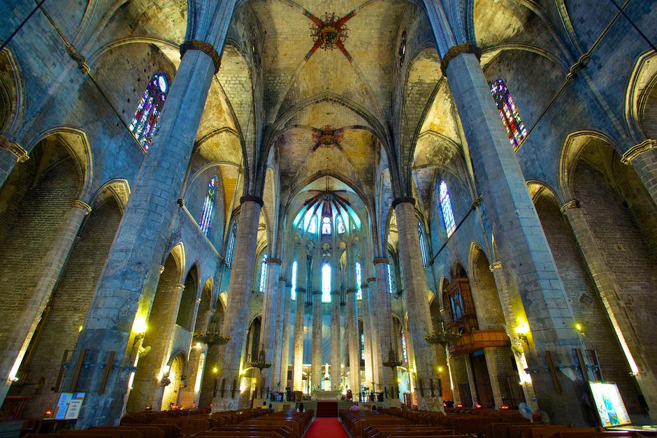 Santa Maria del Mar, Barcelona | Author: Jiuguang Wang/ CC BY-SA 3.0
