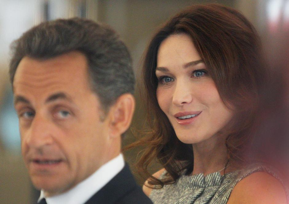 Nicolas Sarkozy i Carla Bruni | Author: Press Association/PIXSELL