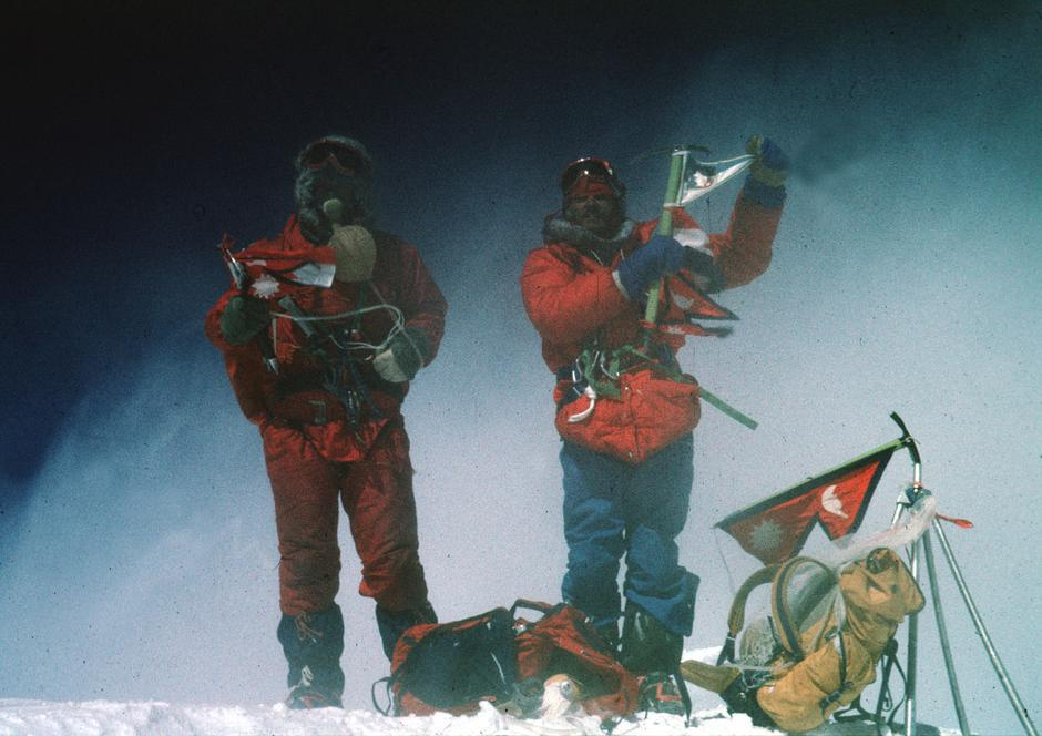 Uspon na Mount Everest, Stipe Božić i Nejc Zaplotnik | Author: privatni album
