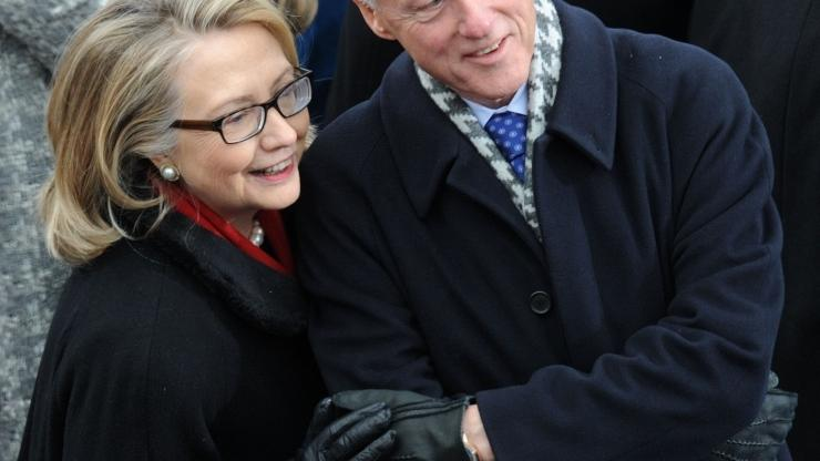 Hillary i Bill Clinton
