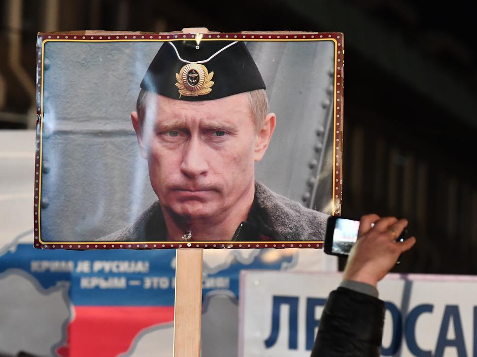 Posjet Vladimira Putina Aleksandru Vučiću u siječnju 2019.   Author: Srđan Ilić/PIXSELL