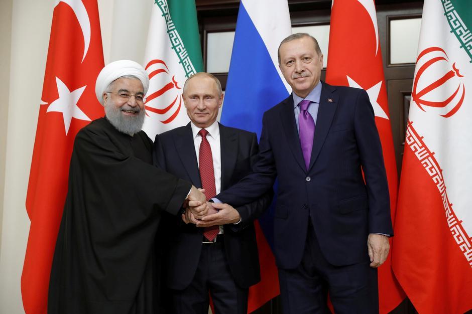 Rouhani, Putin i Erdogan | Author: SPUTNIK/REUTERS/PIXSELL