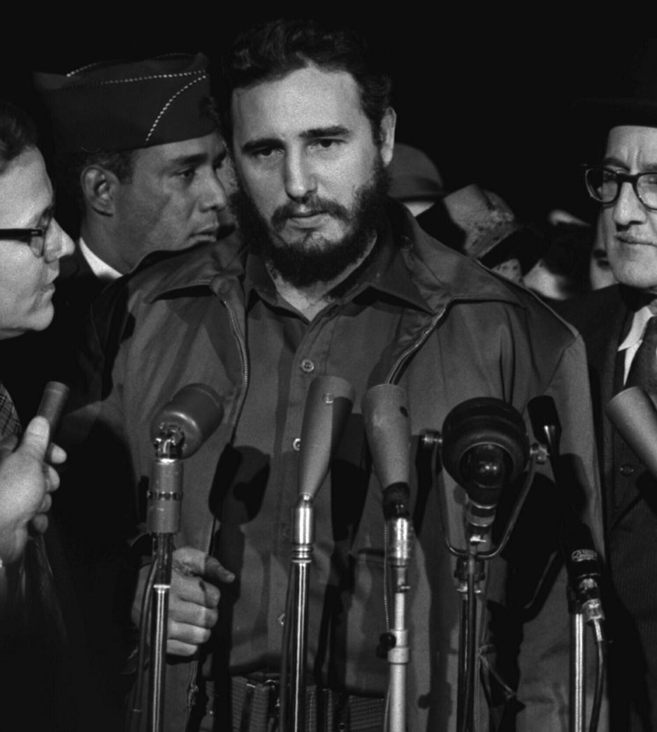 Fidel Castro | Author: Library of Congress Prints and Photographs Division Washington