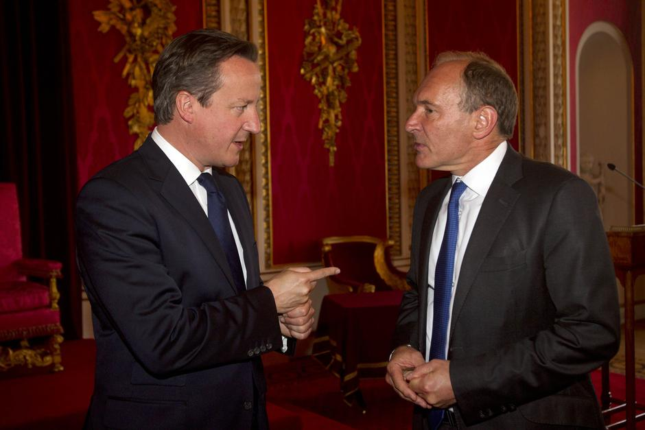 David Cameron i Tim Berners-Lee | Author: Lewis Whyld/Press Association/PIXSELL