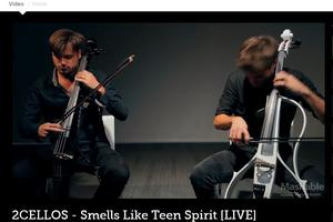 2Cellos na Mashableu