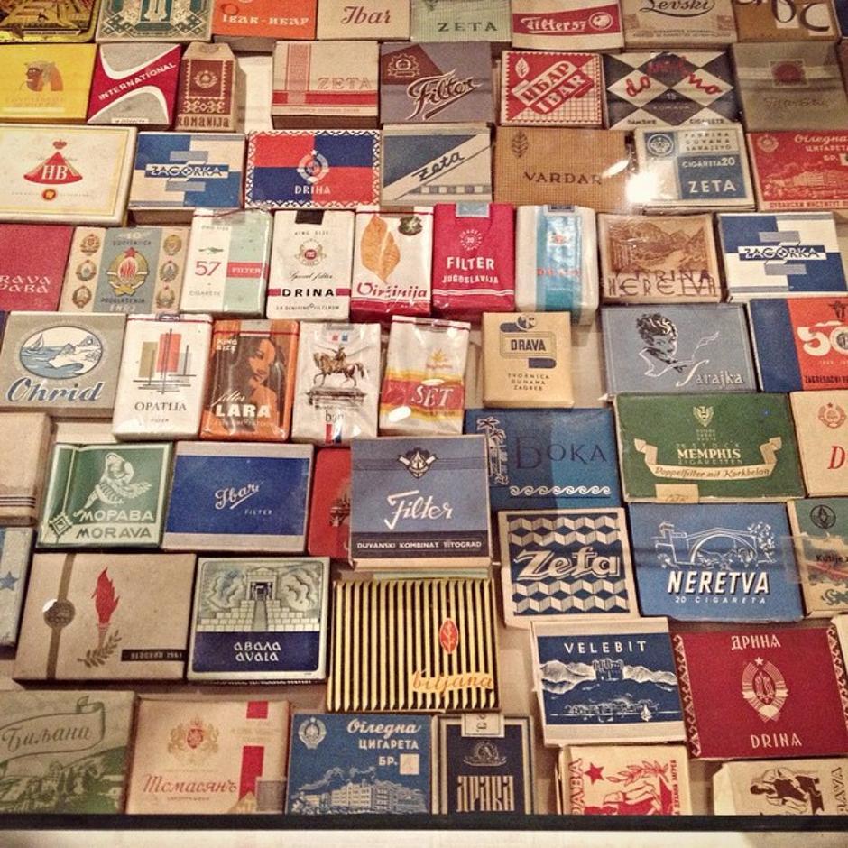 Nekadašnje cigarete u Jugoslaviji | Author: Instagram