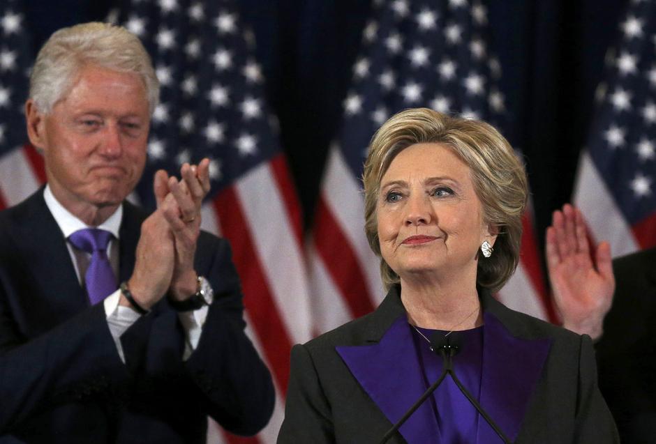 Hillary Clinton priznala poraz na izborima za američkog predsjednika   Author: REUTERS/Carlos Barria