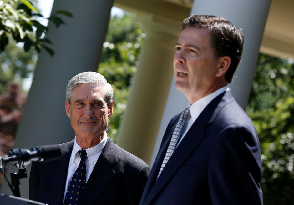 Robert Mueller i James Comey | Author: JASON REED/REUTERS/PIXSELL