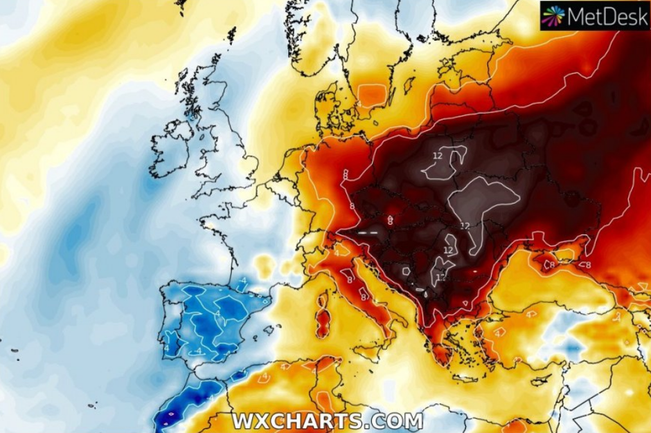 Pretopla jesen u Europi, 2019. | Author: Severe Weather Europe