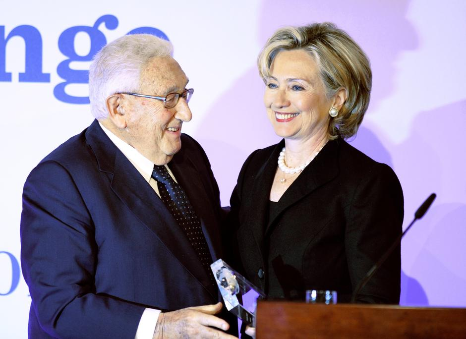Henry Kissinger i Hillary Clinton | Author: DPA/PIXSELL