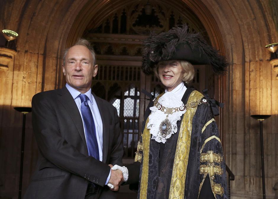 Tim Berners-Lee prima počasnu nagradu grada Londona | Author: Philip Toscano/Press Association/PIXSELL