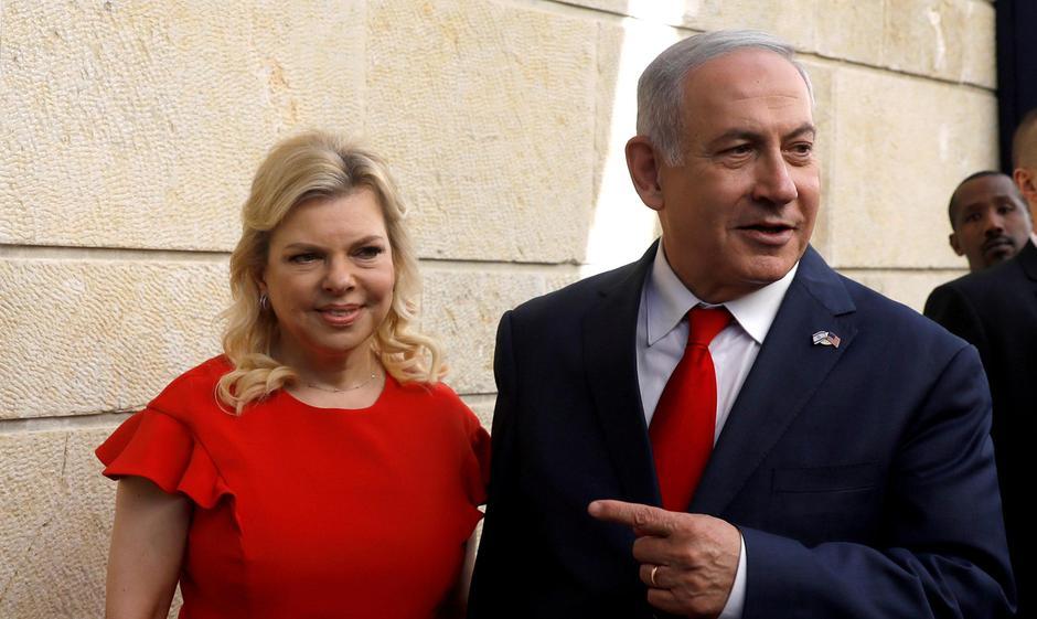 Benjamin Netanyahu i supruga Sara | Author: REUTERS