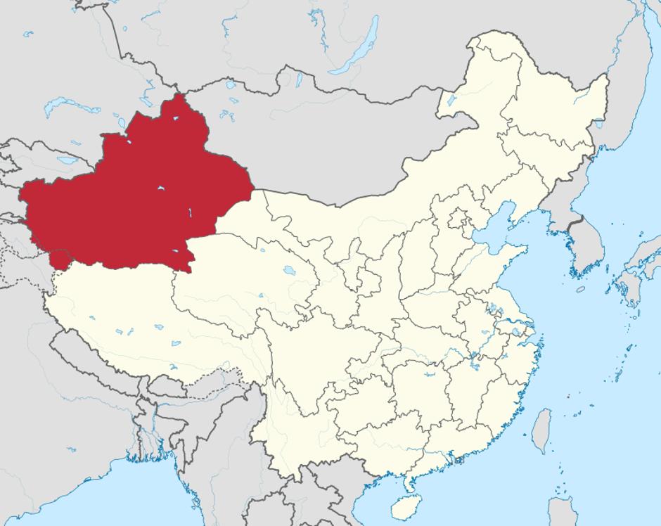 Xinjiang u Kini   Author: Wikipedia