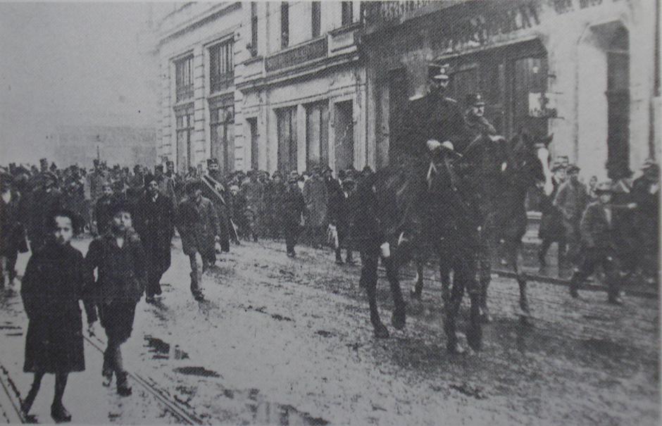 Prosinačke žrtve, masakr 5.12.1918. u Zagrebu | Author: arhiv DPRZ