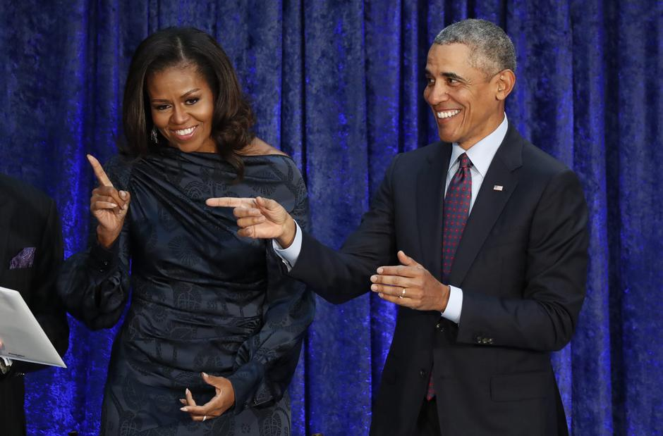 Barack i Michelle Obama | Author: JIM BOURG/REUTERS/PIXSELL