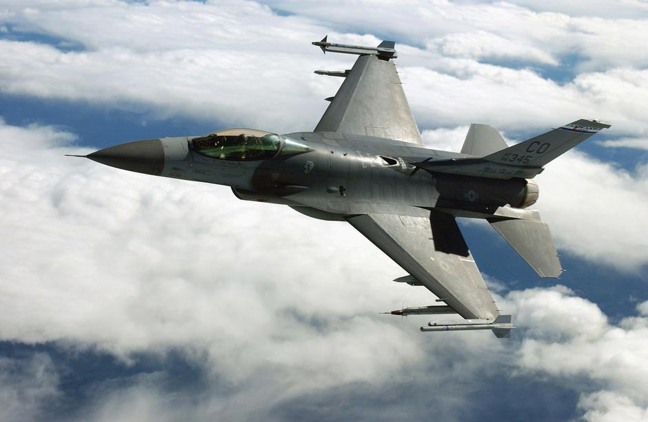 F-16 Fighting Falcon | Author: Wikipedia
