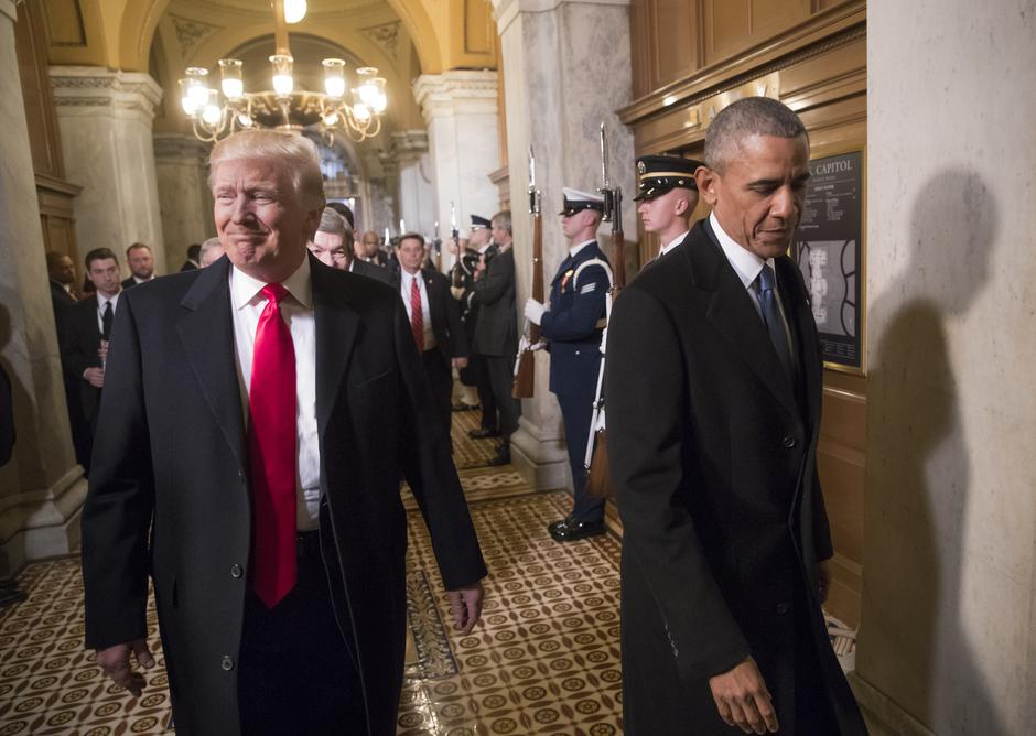 Barack Obama i Donald Trump | Author: J. SCOTT APPLEWHITE/DPA/PIXSELL