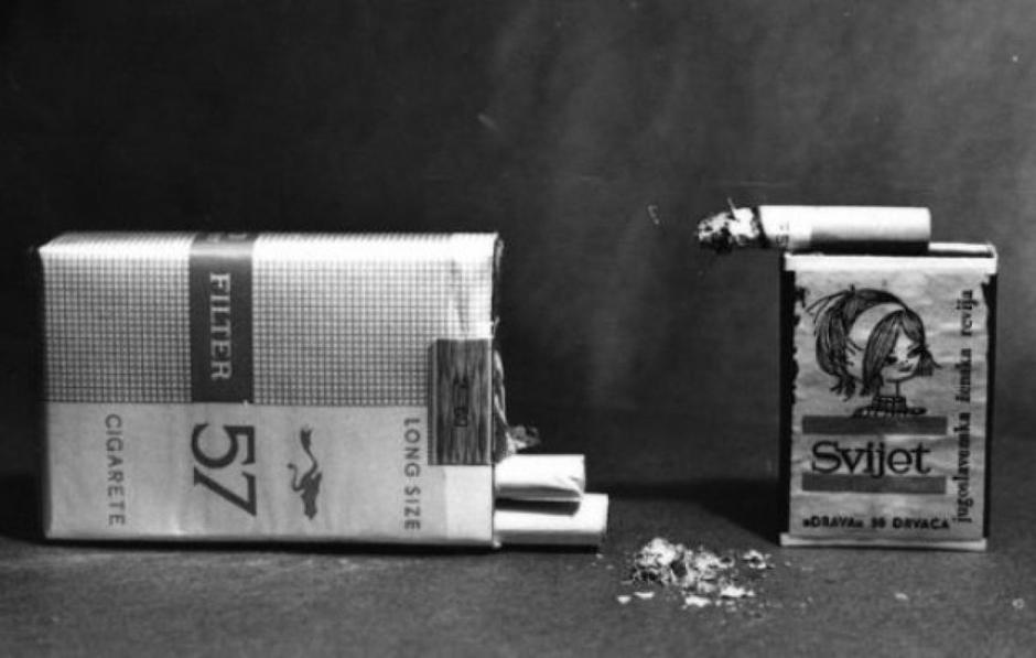 Nekadašnje cigarete u Jugoslaviji | Author: Facebook