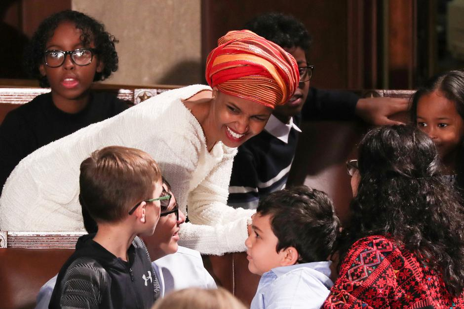 Ilhan Omar | Author: JONATHAN ERNST/REUTERS/PIXSELL