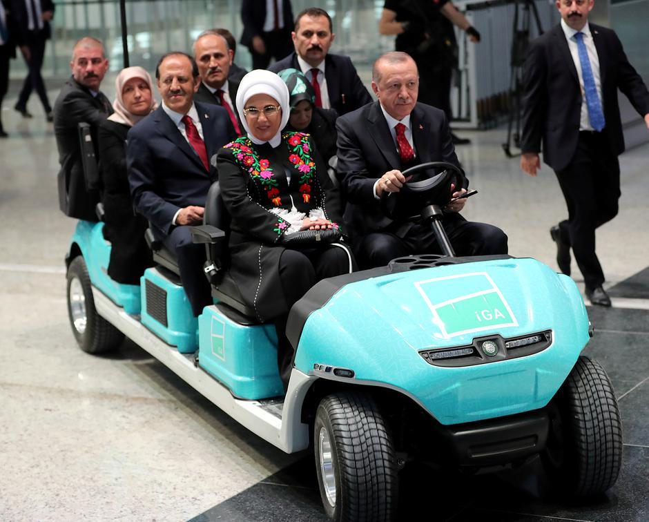 Turski predsjednik Recep Tayyip Erdogan otvorio Zračnu luku Istanbul | Author: Handout/REUTERS/PIXSELL