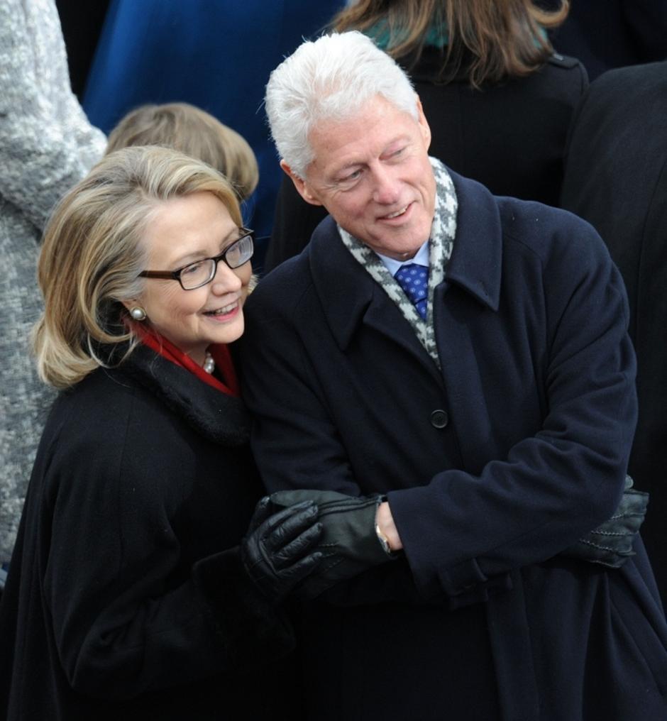 Hillary i Bill Clinton | Author: Olivier Douliery/Press Association/PIXSELL