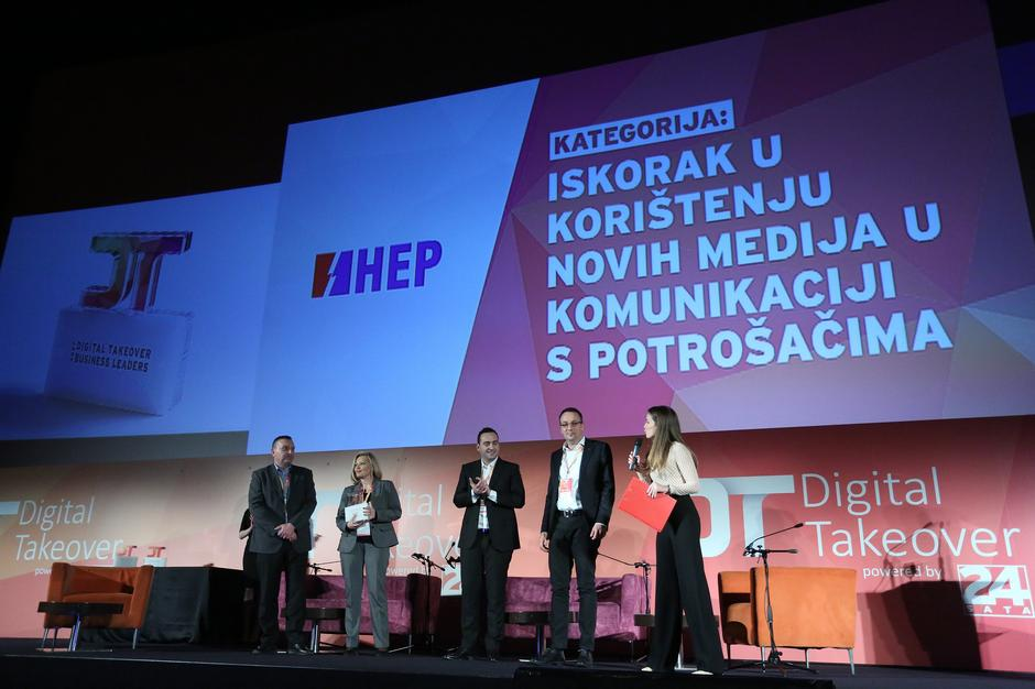 Dodjela Digital Takeover business leaders priznanja | Author: Borna Filic (PIXSELL)