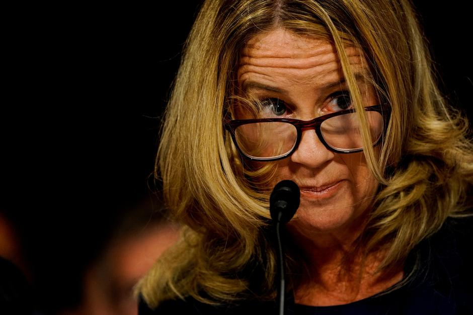 Blasey Ford | Author: pool/REUTERS/PIXSELL