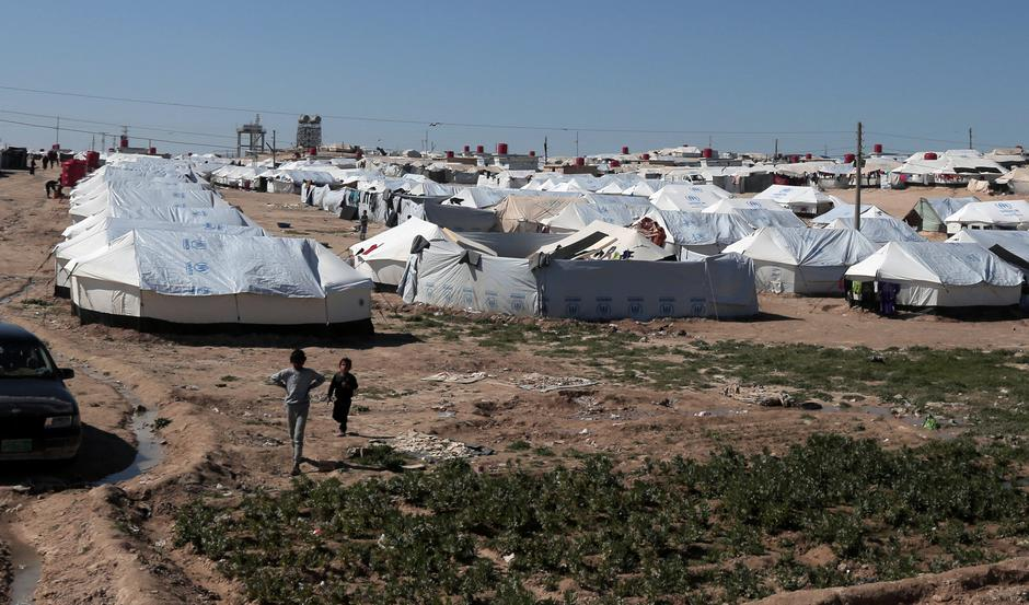 Kamp za izbjeglice Al-Hawl u Siriji   Author: STAFF/REUTERS/PIXSELL