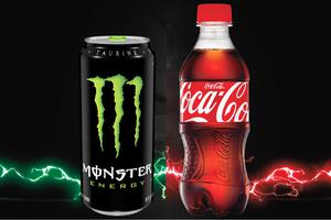 Coca Cola i Monster