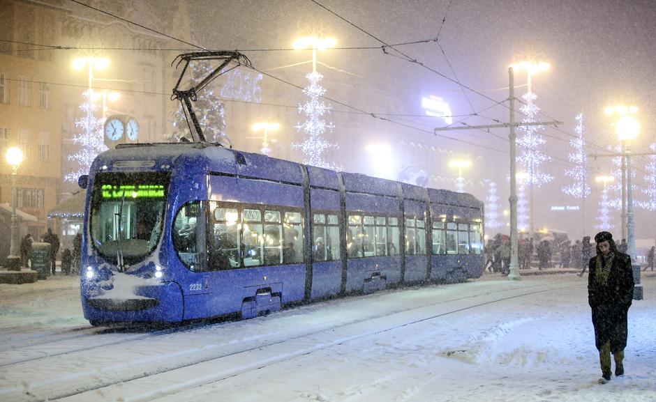 Snježna oluja u Zagrebu | Author: Petar Glebov (PIXSELL)
