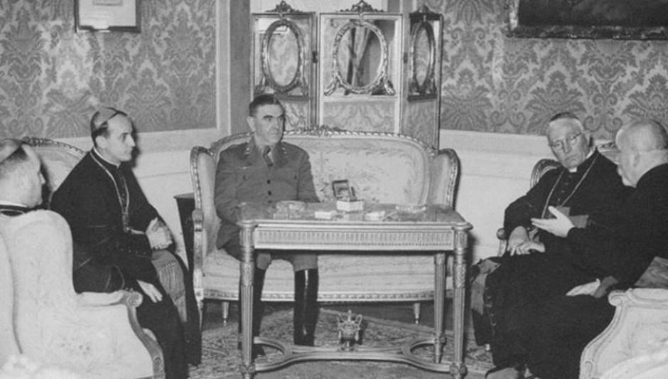 Alojzije Stepinac, Ante Pavelić | Author: Leksikografski zavod