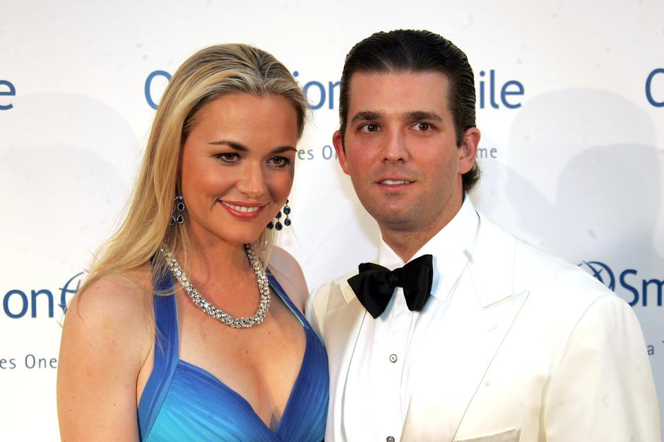 Dinald Trump Jr., Vanessa Trump | Author: Charles Guerin/Press Association/PIXSELL