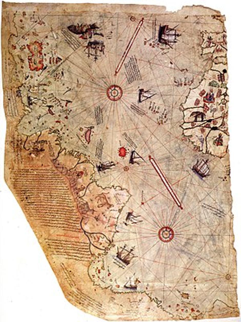 Karta Piri Reisa | Author: Wikimedia Commons