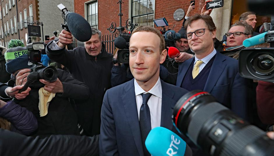 Mark Zuckerberg, šef Facebooka | Author: Niall Carson/Press Association/PIXSELL
