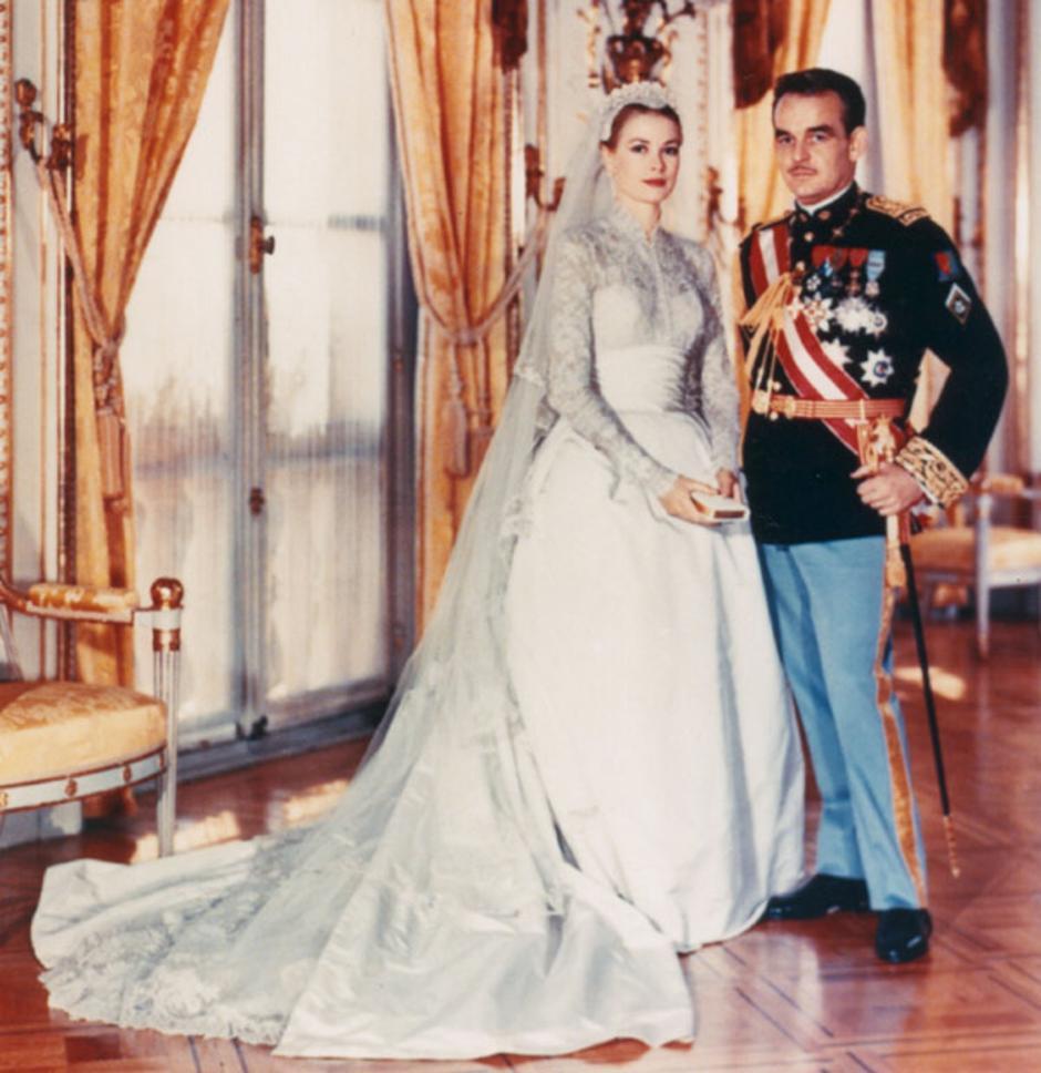 Grace Kelly i princ Rainer | Author: Pinterest