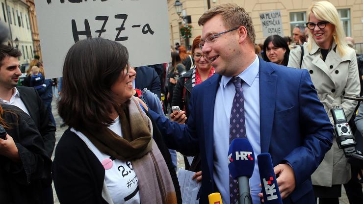 Ministar rada Branko Pavić