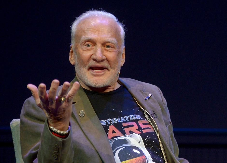 Buzz Aldrin | Author: Press Association/PIXSELL