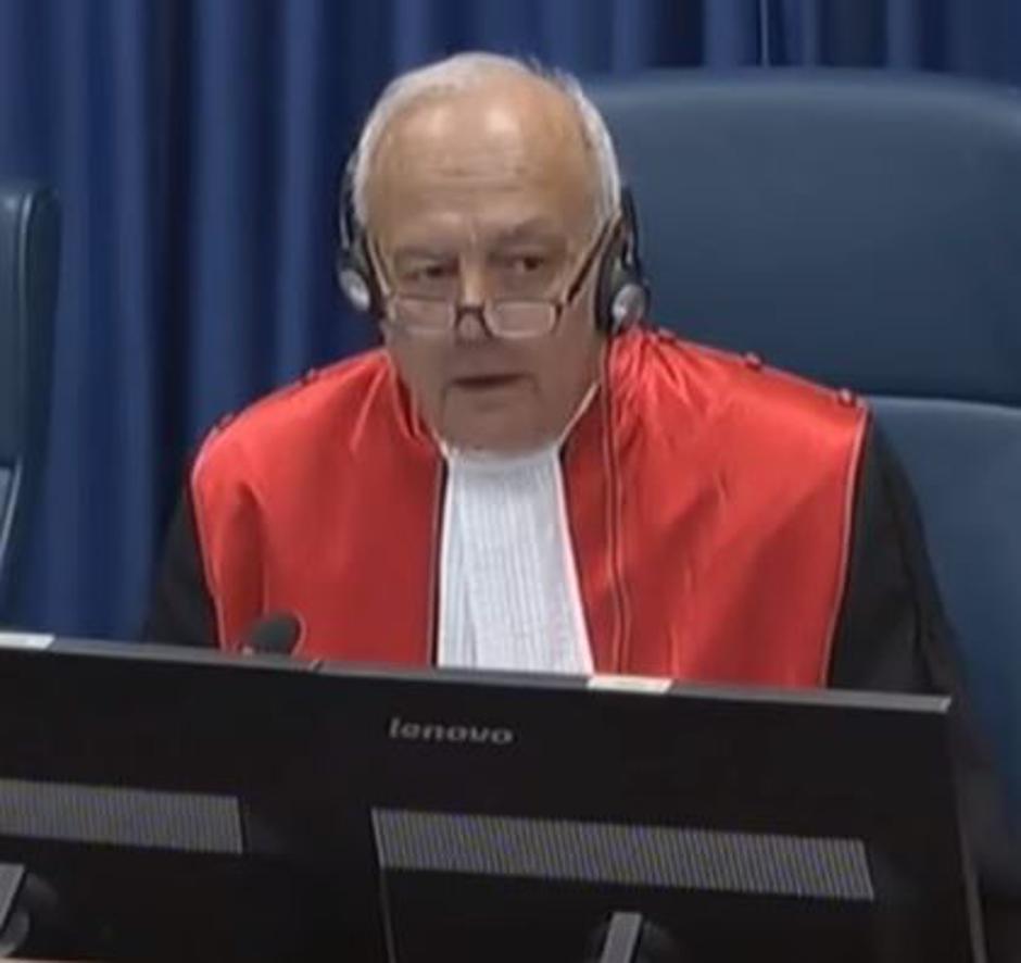 Jean-Claude Antonetti, sudac Haaškog tribunala   Author: YouTube screenshot