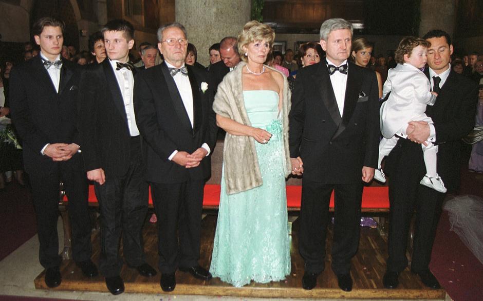 Obitelj Todorić na vjenčanju Ive Balent | Author: Boris Scitar/PIXSELL