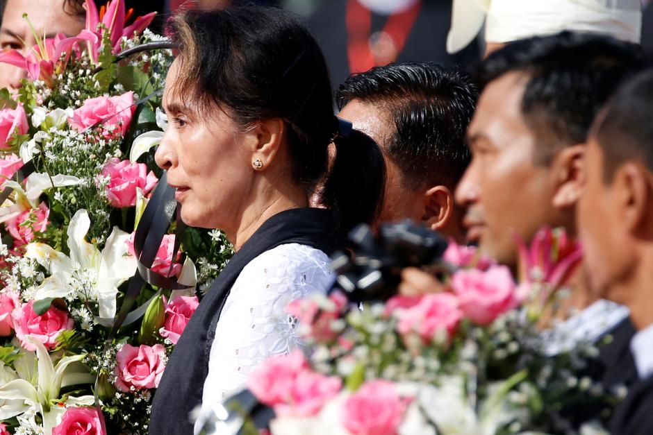 Aung San Suu Kyi | Author: REUTERS